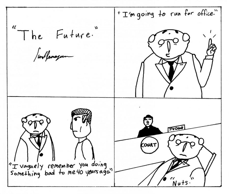 The Future: Disorder in the court