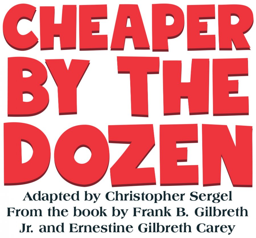 Cheaper By The Dozen was selected to be this years Spring Play.