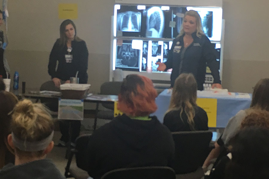 Hays Medical Center hosted Journeys and Destinations on Nov. 7, attended by seven Hays High students.