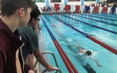 Boys swim team places fifth in first meet of season