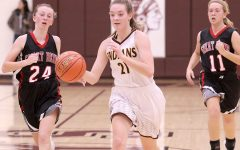 Girls basketball wins first round of Hays City Shoot-Out against Great Bend