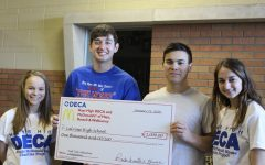 Seniors raise awareness for Ronald McDonald charity, complete pull tab competition between schools