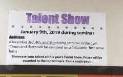 Talent show moves to January