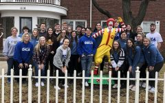 23 DECA members travel to Ronald McDonald House Charities in Wichita, work to complete chores