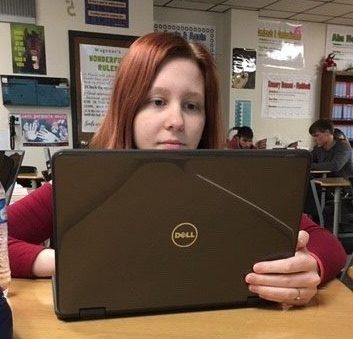 Rebecca Anderson, senior