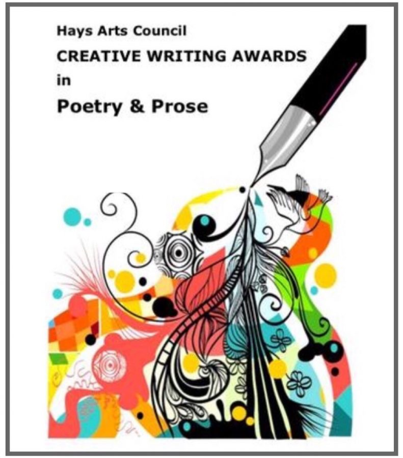 Six students from Hays High won awards in the Poetry/Prose competition. The Creative Writing Awards Ceremony will be held on Sunday, May 5 at 1pm in the Ballroom of the FHSU Memorial Union.