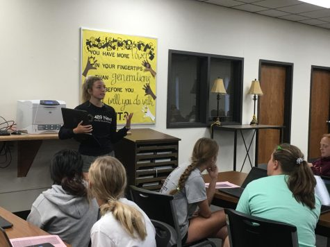 StuCo meets during PRIDE time on Sept. 4 to discuss preliminary homecoming plans