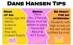 Seniors earn scholarship opportunities through Dane G. Hansen test