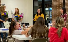 Girls' tennis awards night held