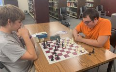Chess Club has first meeting of the year in the library