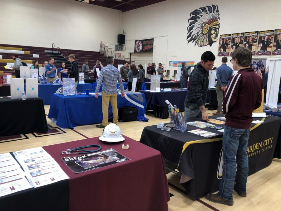 The College and Career Conference gave students the opportunity to ask questions to representatives from various schools.