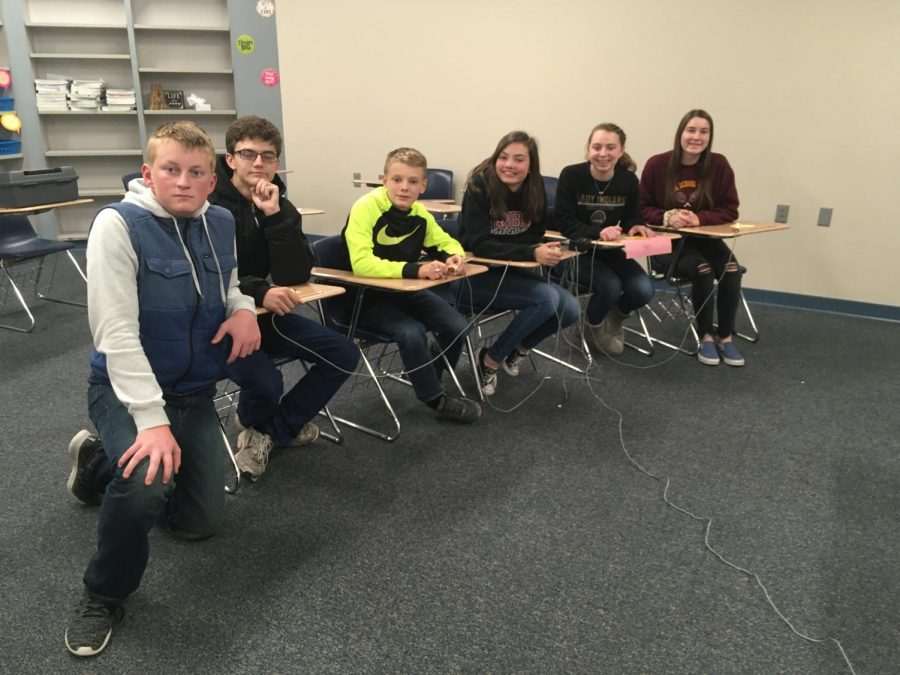 Scholars Bowl competes at first tournament this season in Goddard