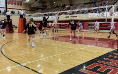 The Lady Indians Volleyball team to travels Great Bend