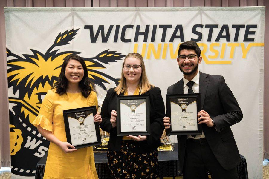 Three students won last year's scholarship.
