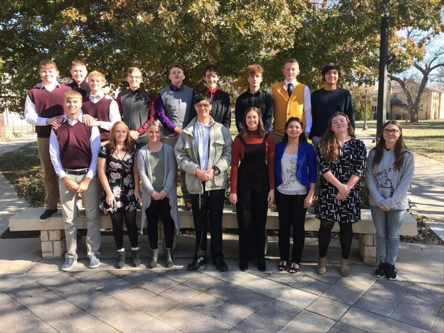 The Mathletes competed at Fort Hays State University on Thursday, Nov. 14. The team placed first.