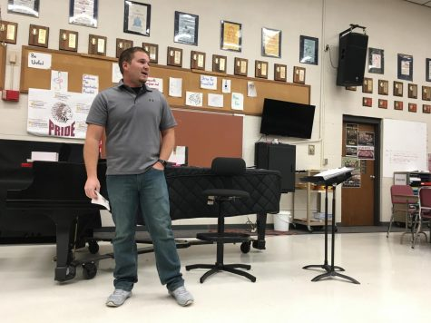 New Drum Majors talk about goals for the coming year