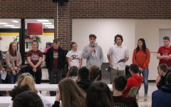 Leadership team shares advice with freshman