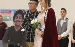 Indian Call King and Queen announced during basketball game