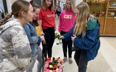 Foreign Language Honor Society sells roses for Valentine's Day