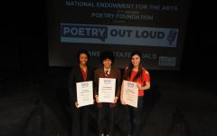 Senior places second in Poetry Out Loud state competition