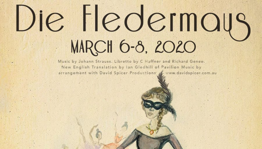 """40 German I and II students, as well as two drama students, attended the opera """"Die Fledermaus"""" at Friends University."""