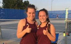 Seniors Emmy Morely and Mylah potter played #2 doubles and placed fifth.