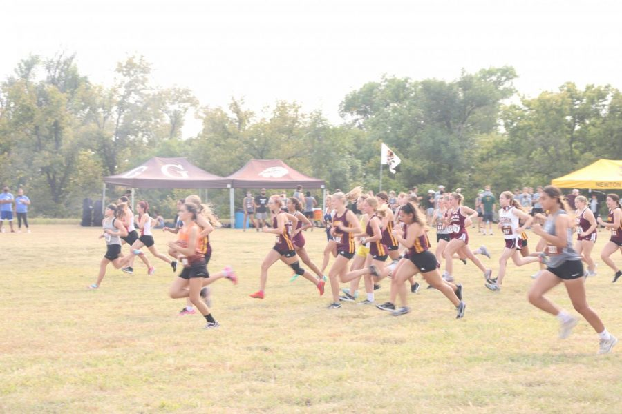 Cross country held an invitational meet on Sept. 17.