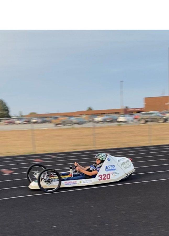 Racing Around Track