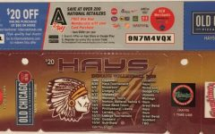 Hays High Indian Volleyball Fundraiser card.