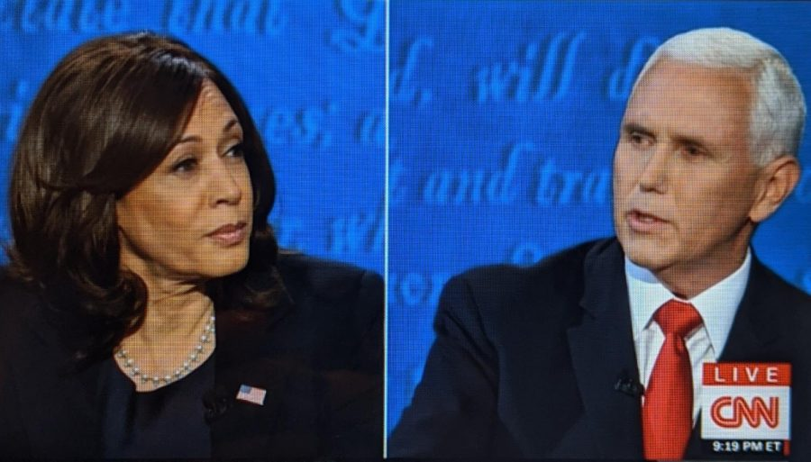 Mike Pence, Kamala Harris participate in only vice presidential debate