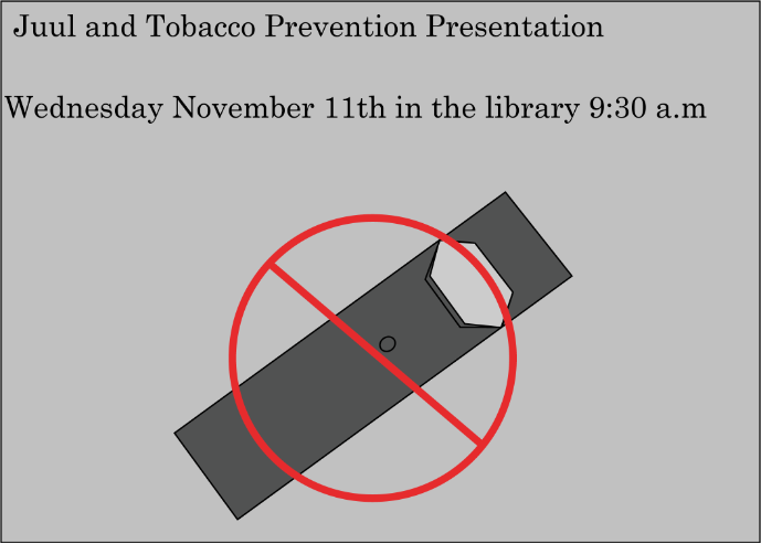 Tobacco, Juul use to be discussed with Health classes