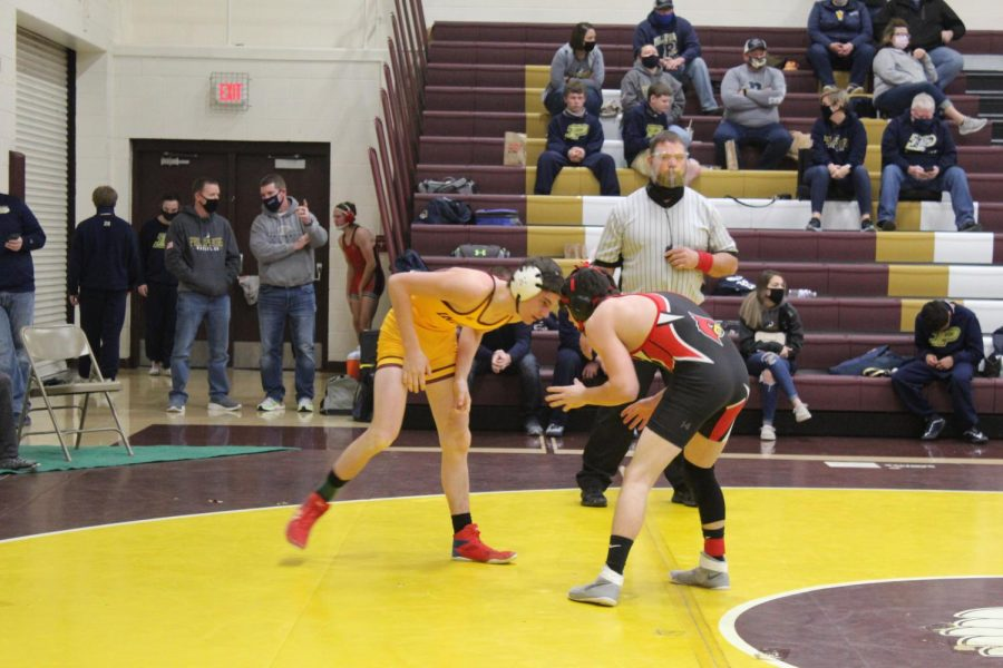Wrestlings next meet will be on Jan. 30 at Larned.