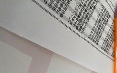 A replica answer sheet