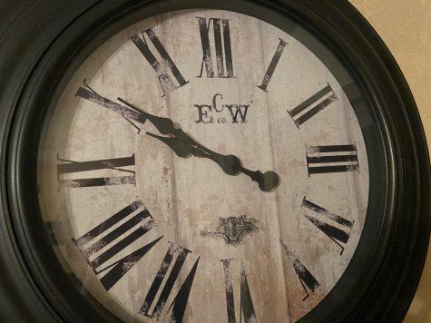 Clock to represent Daylight savings coming up.