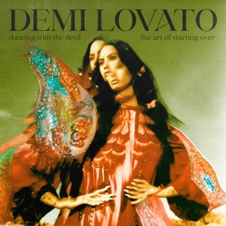 "Lovato released her new album, ""Dancing with the Devil...the Art of Starting Over"" on April 2."