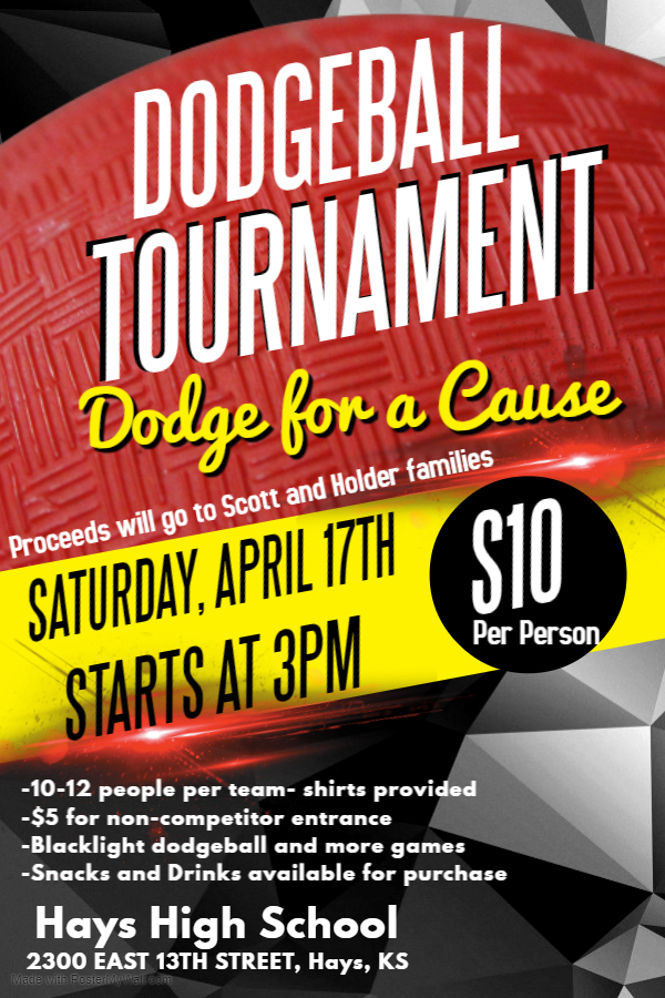 The event will be held Saturday, April 17 starting at 3pm.