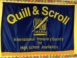 The Quill and Scroll Journalism Honors Society has been reintroduced to the school this year. On May 12, ten students will be inducted into the chapter.