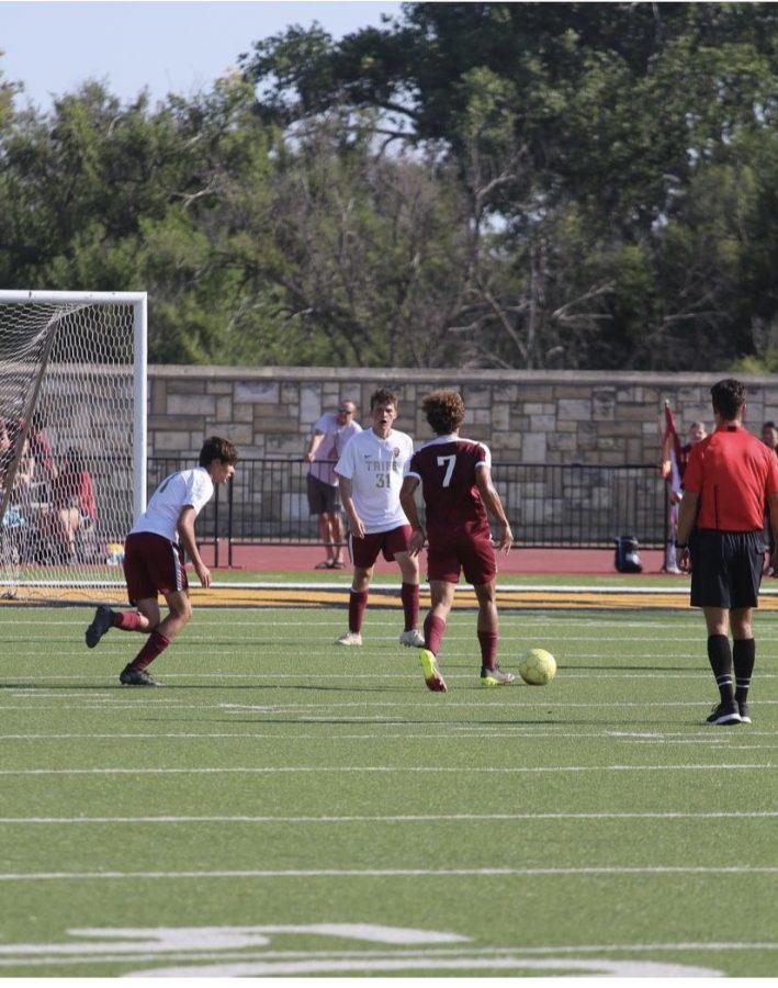 Boys soccer wins big against TMP